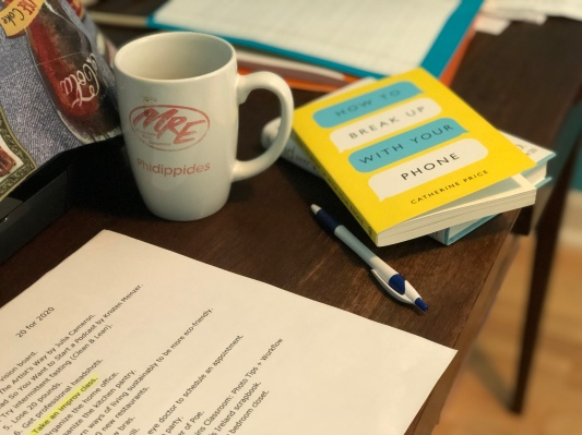 Books & Coffee Cup